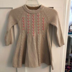 Dior wool knit dress